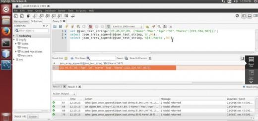 MySQL 5.7: Append value in JSON array using MySQL