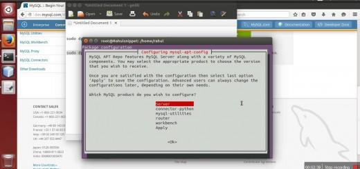 MySQL 5.7 Install and Configuration on Ubuntu 14.04