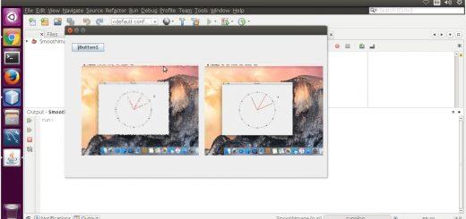 Diffuse image filter using Java